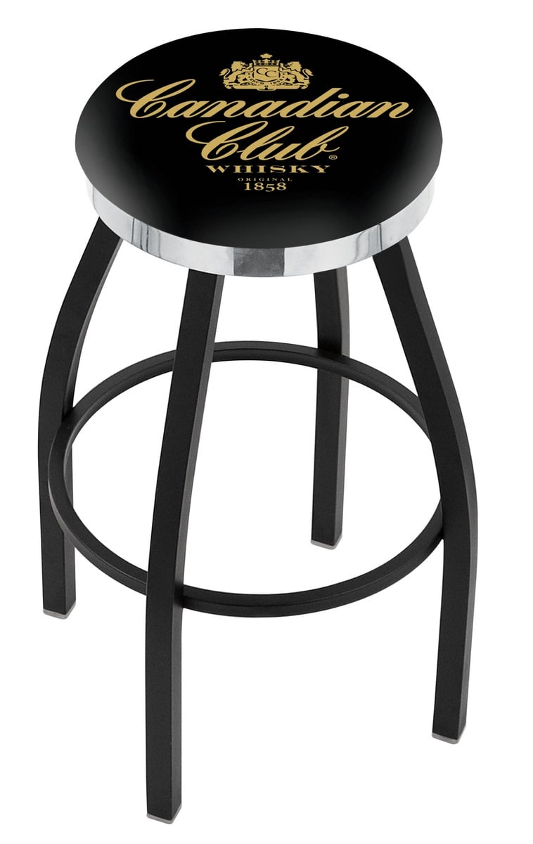 Canadian Club Counter Height Bar Stool W Official Jim