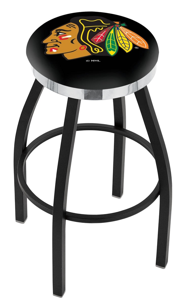 Phenomenal Chicago Blackhawks Spectator Chair W Black Background W Lamtechconsult Wood Chair Design Ideas Lamtechconsultcom