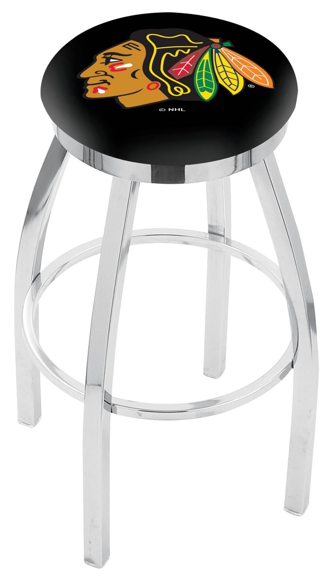 Pleasant Chicago Blackhawks Spectator Chair W Black Background Lamtechconsult Wood Chair Design Ideas Lamtechconsultcom