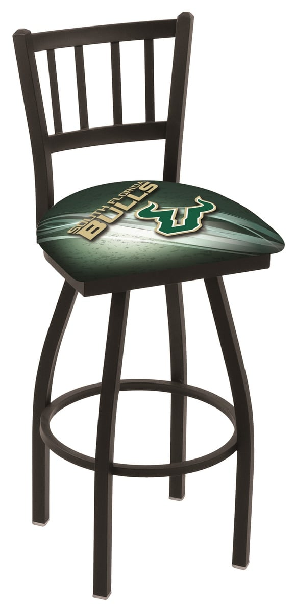 South Florida Bar Stool w Official College Logo Family  : L018SouFla D2eur9 vt from www.familyleisure.com size 576 x 1200 jpeg 49kB