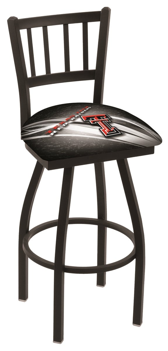 Texas Tech Bar Stool W Official College Logo Family Leisure