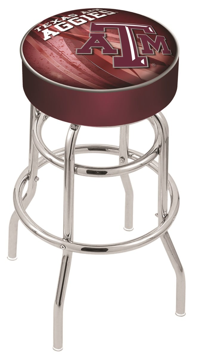 Texas A Amp M Counter Height Bar Stool W Official College