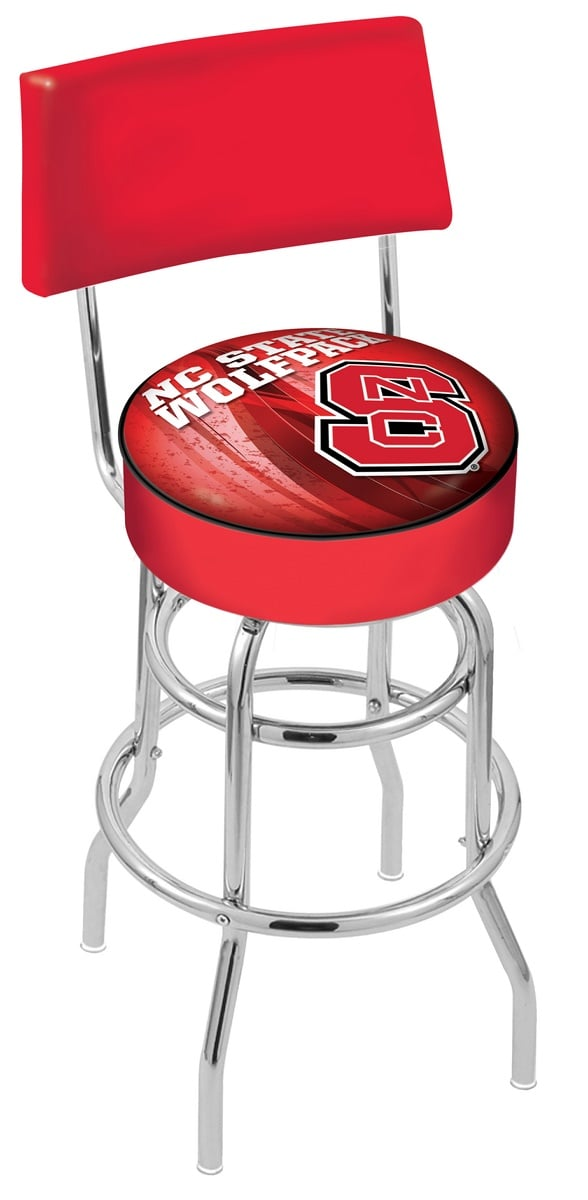 North Carolina State Bar Stool W Official College Logo