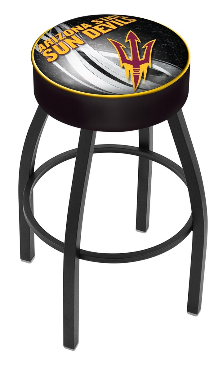 Arizona State Counter Height Bar Stool with Pitchfork Logo  : L8B1ArizSt F D2 from www.familyleisure.com size 719 x 1200 jpeg 64kB