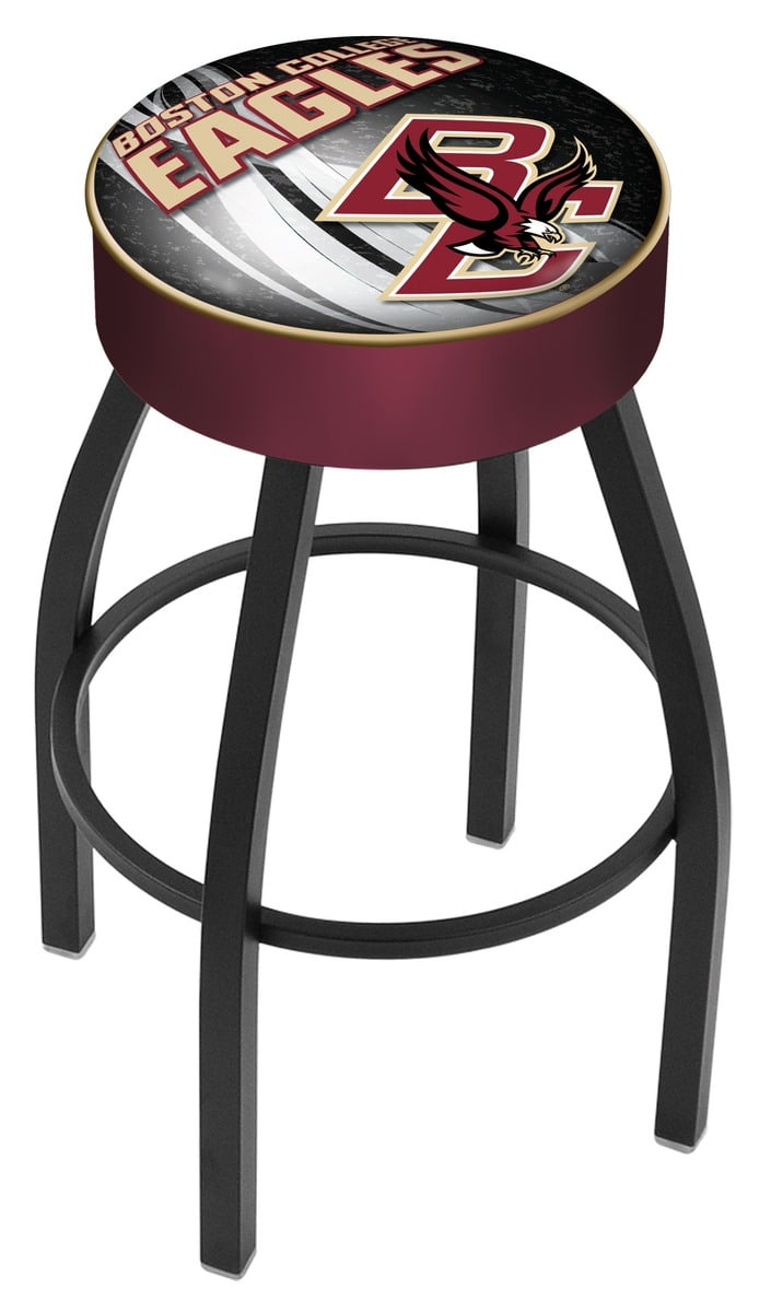 Boston College Bar Stool W Official College Logo Family
