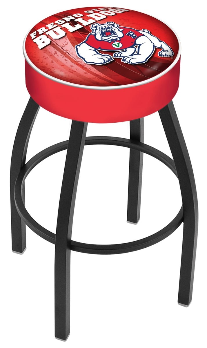 Fresno State Bar Stool W Official College Logo Family
