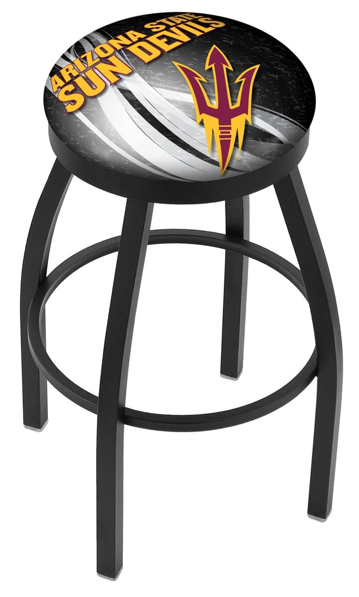 Arizona State Bar Stool With Pitchfork Logo W Official