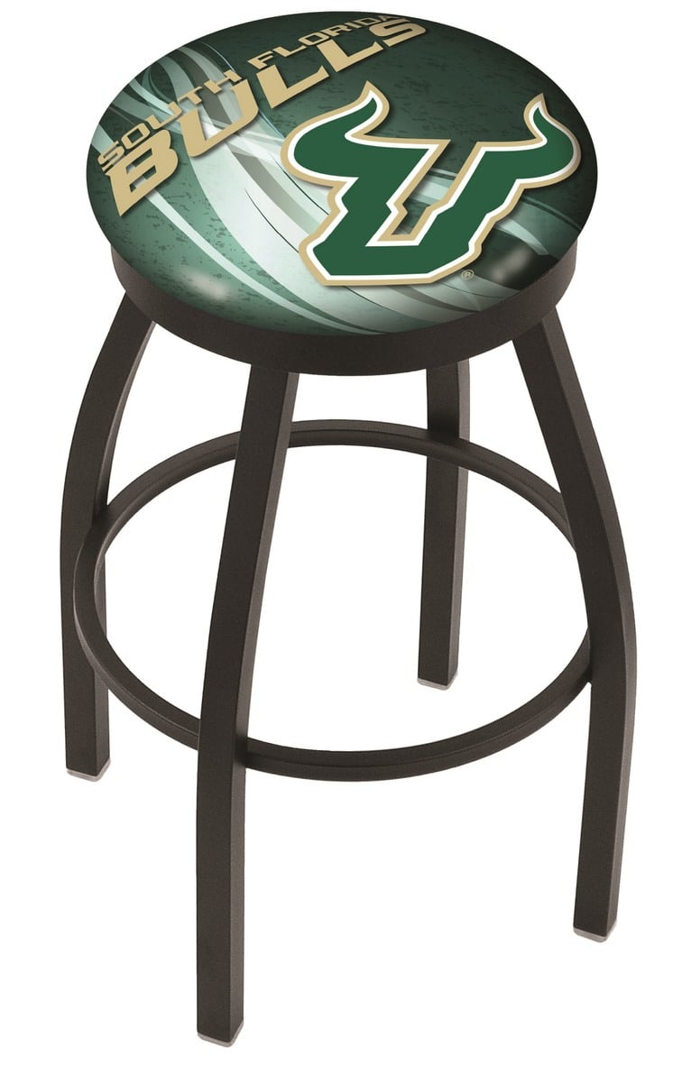 South Florida Bar Stool W Official College Logo Family