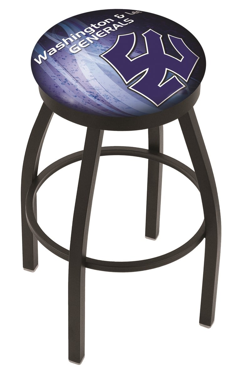 Washington Amp Lee Bar Stool W Official College Logo