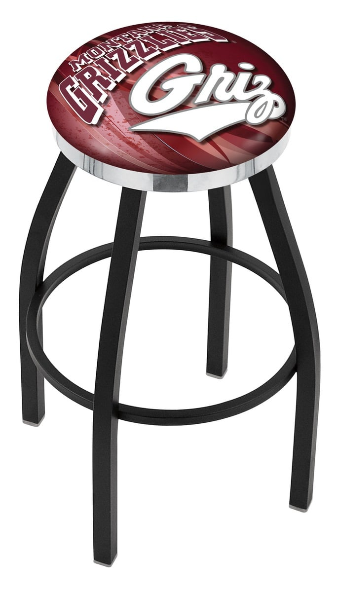 Montana Bar Stool W Official College Logo Family Leisure