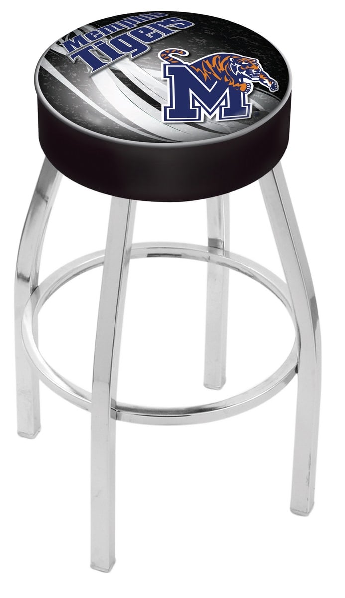 Memphis Bar Stool W Official College Logo Family Leisure