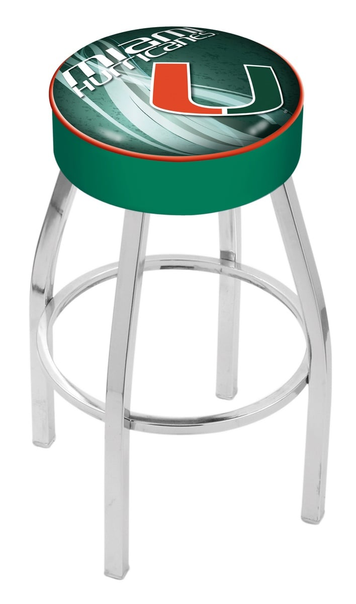 Miami Fl Counter Height Bar Stool W Official College
