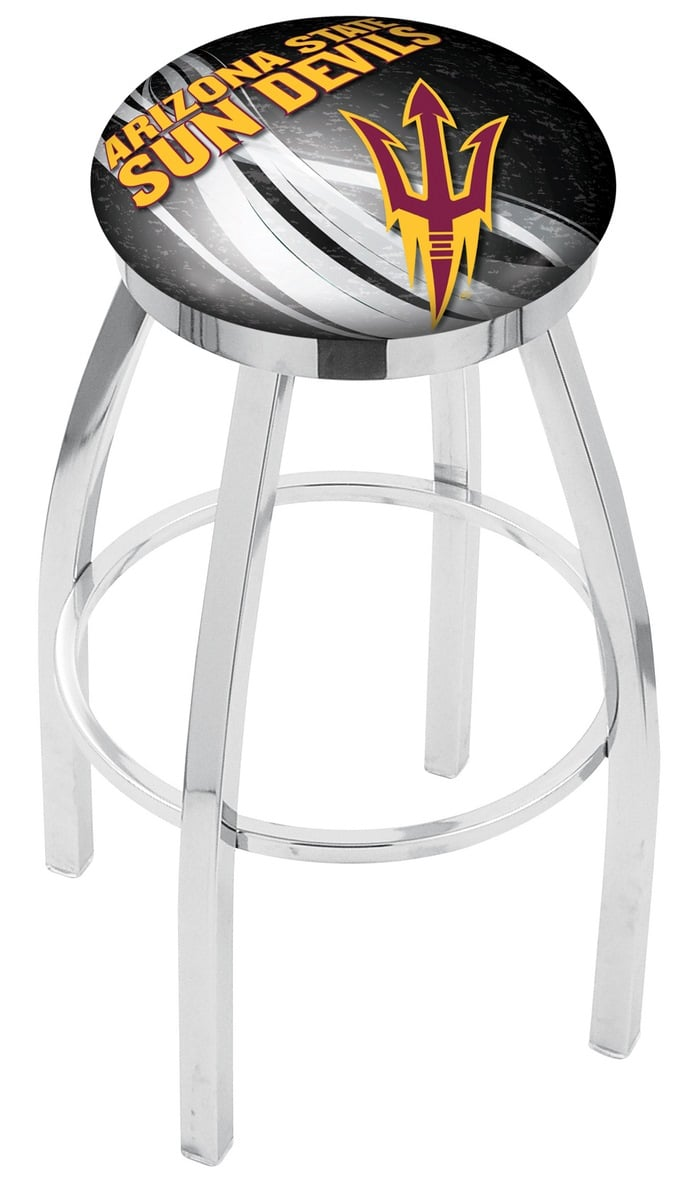 Arizona State Counter Height Bar Stool With Pitchfork Logo