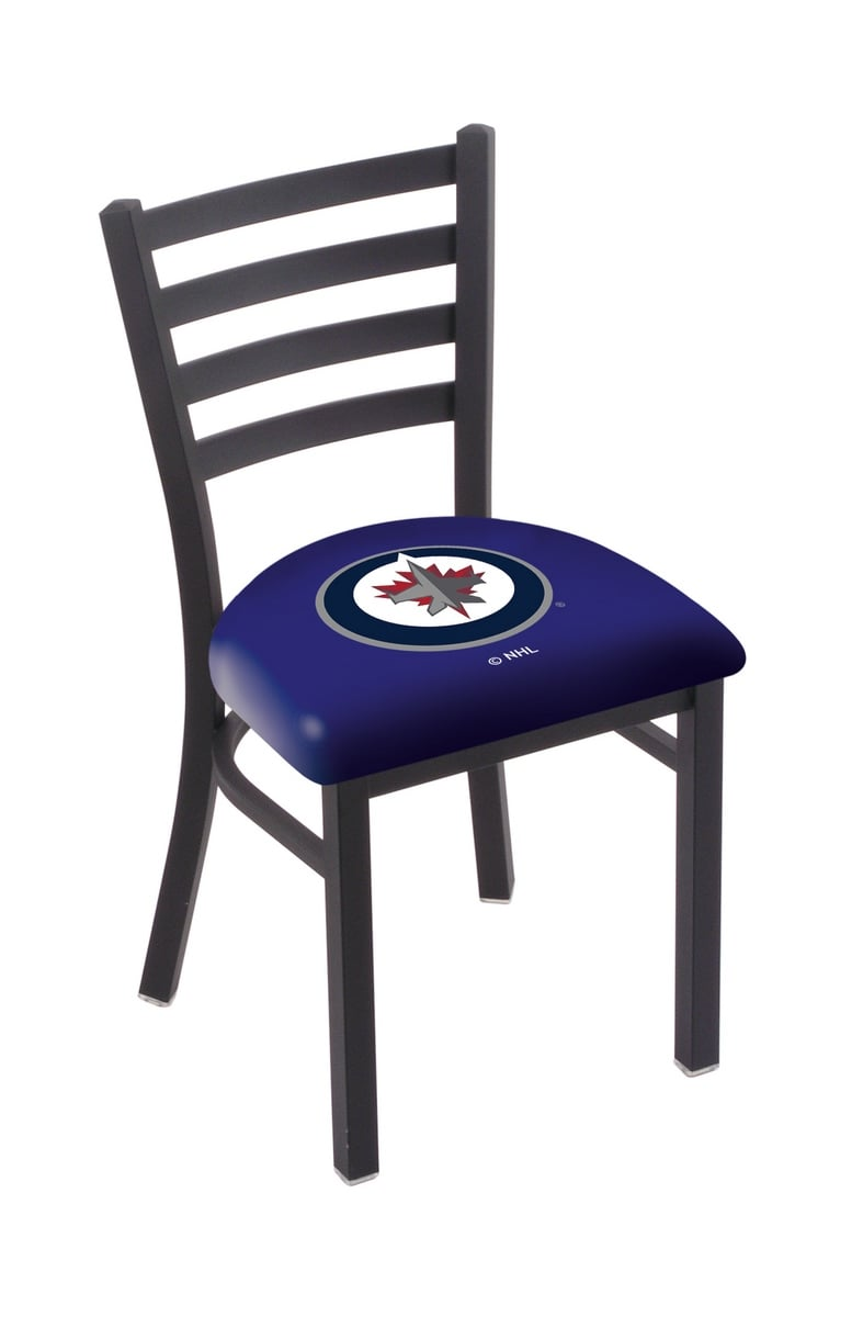 Winnipeg Jets Chair W Official Nhl Logo Family Leisure
