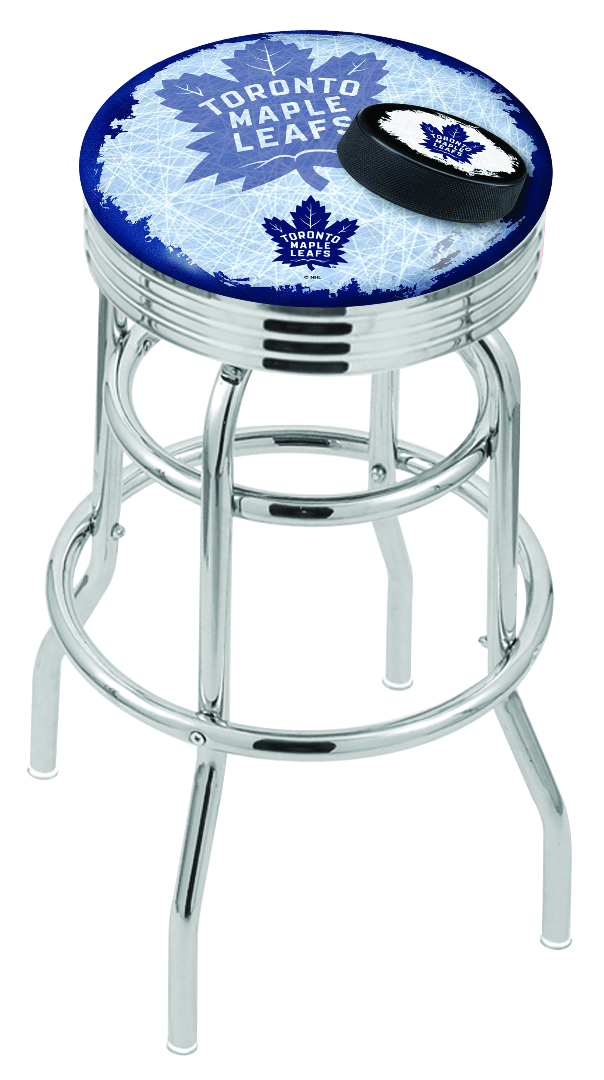 Toronto Maple Leafs Counter Height Bar Stool W Official