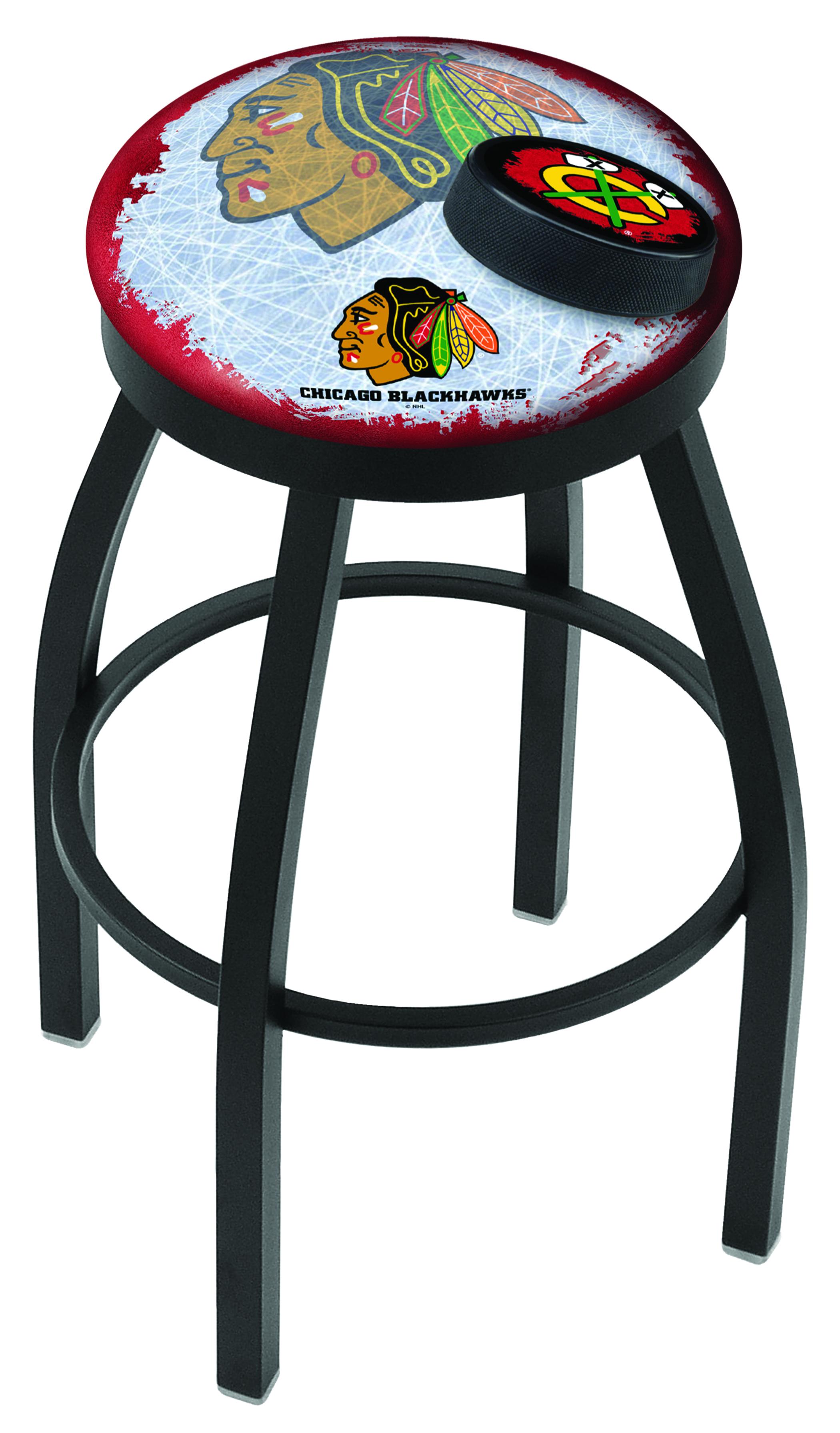 Enjoyable Chicago Blackhawks Spectator Chair W Red Background W Lamtechconsult Wood Chair Design Ideas Lamtechconsultcom