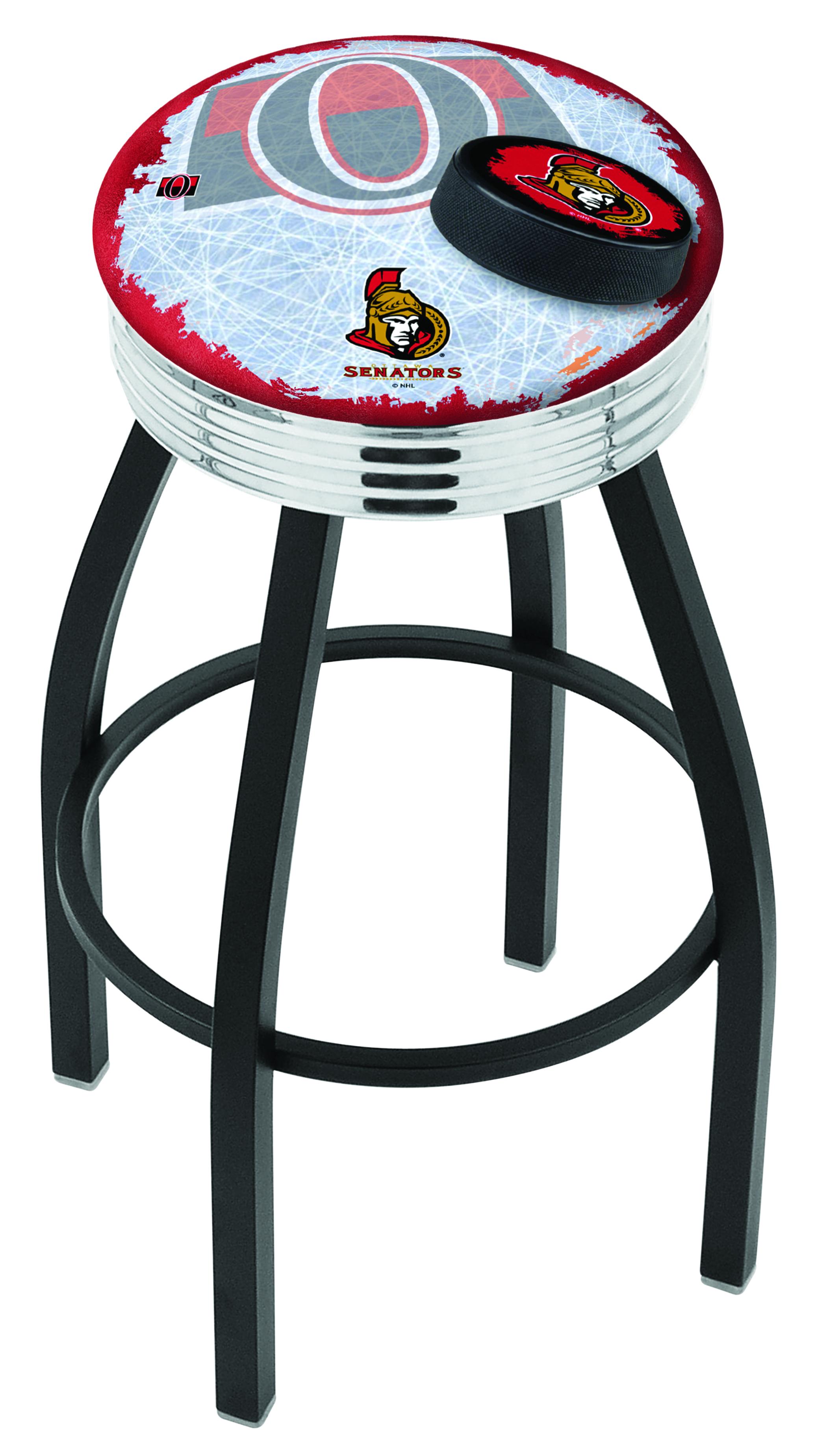 Ottawa Senators Bar Stool w/ Official NHL Logo   Family ...