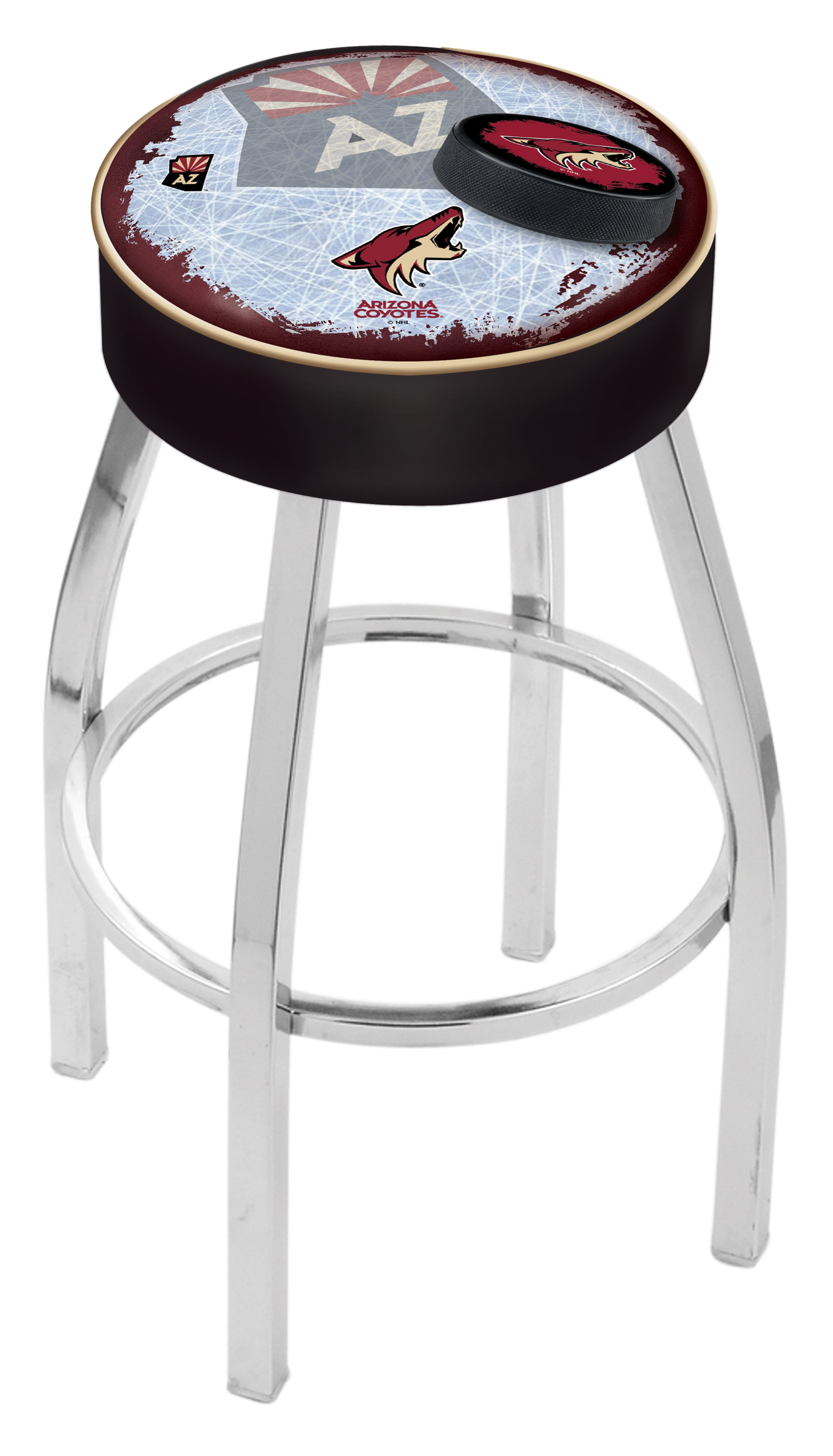 Arizona Coyotes Counter Height Bar Stool W Official Nhl