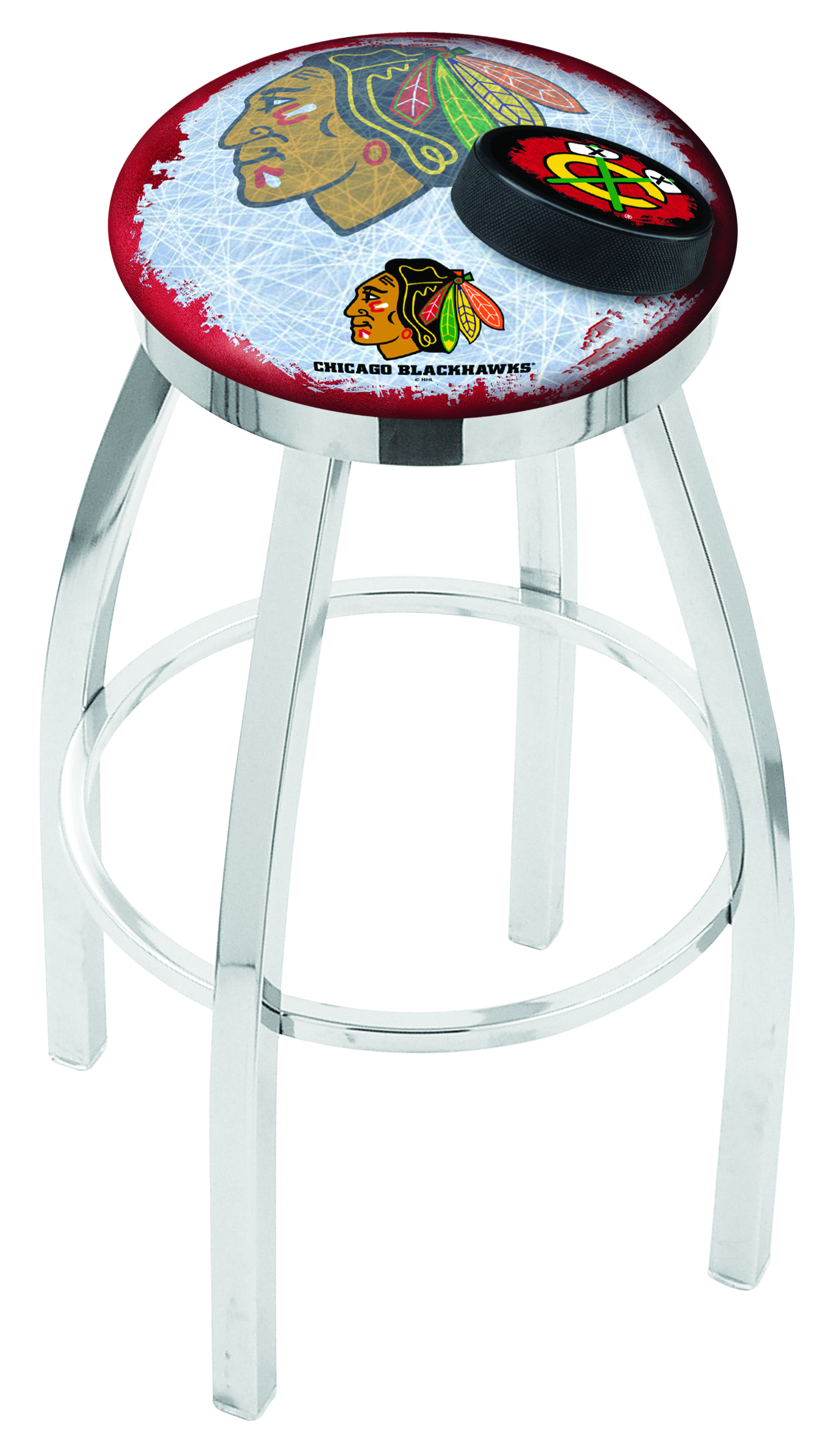 Chicago Blackhawks Spectator Chair W Red Background L8c2c