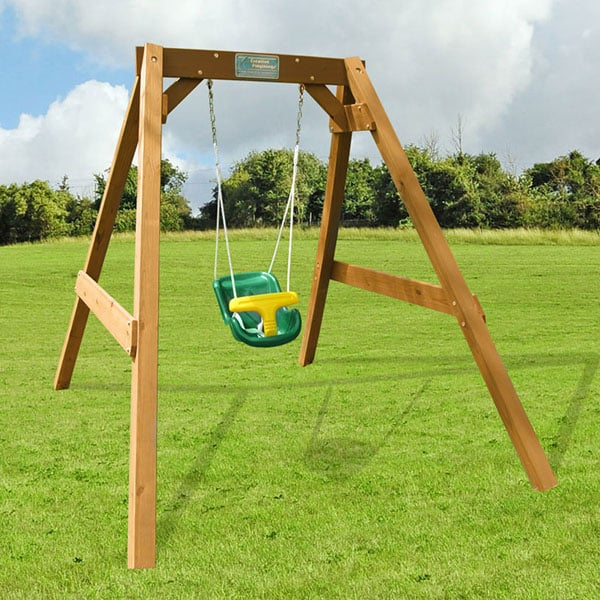 Baby Swing Set With Infant Swing By Creative Playthings