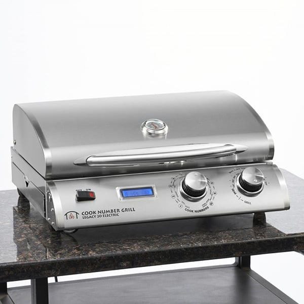 Legacy Electric Grill ~ Quot portable electric grill by outdoor greatroom