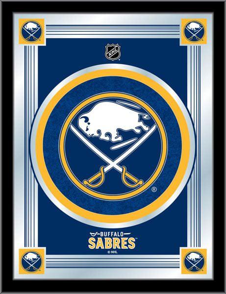 Buffalo Sabres Logo Mirror 17x22 W Official Nhl Logo