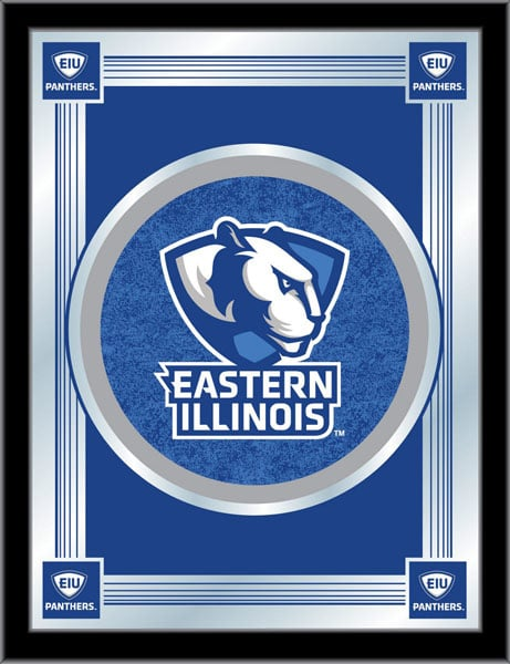 Eastern Illinois Logo Mirror 17x22 W Official College Logo Family