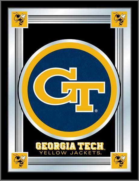 Georgia Tech Logo Mirror 17x22 W Official College Logo