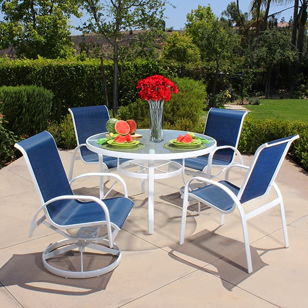 Capri Sling Dining Collection By Alu Mont For Hanamint