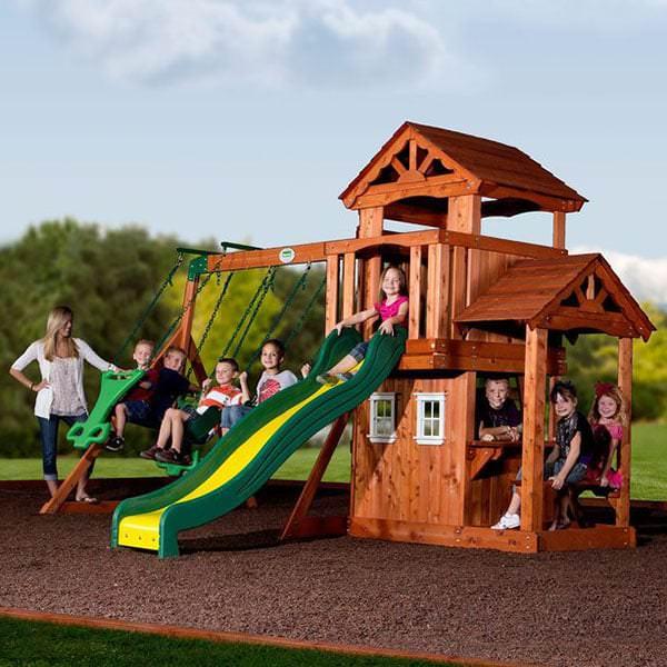 Tanglewood Swing Set By Backyard Discovery