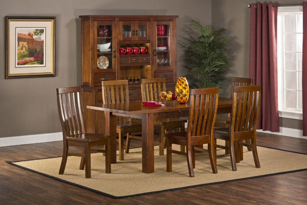 Outback 7pc Dining Set Table With Leaf Family Leisure
