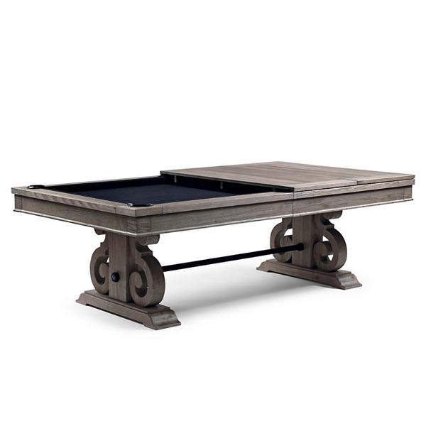 The 8 Barnle Pool Table By Imperial In Silver Mist