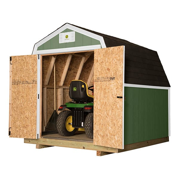 John Deere Diy Ready Shed 8x8 W Barn Roof By Backyard