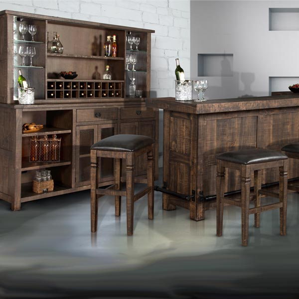Gibraltar 7 Piece Complete Saloon Bar Collection By Family Leisure ...