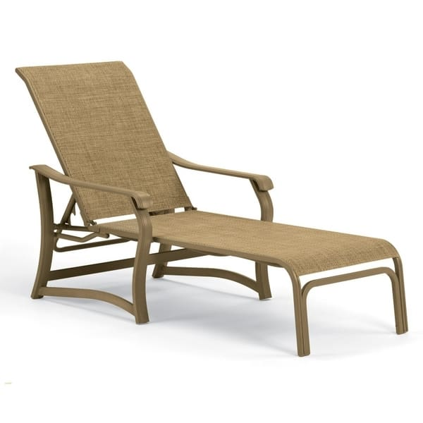 Villa sling chaise lounge for Casual chaise lounge