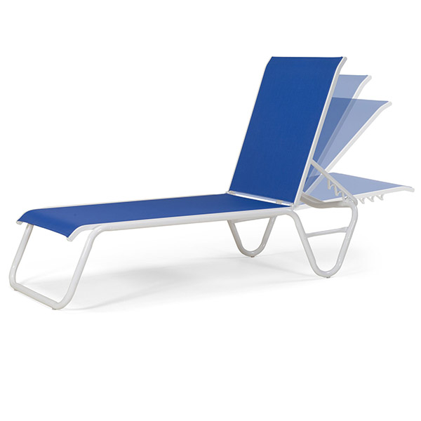 Gardenella armless chaise lounge for Casual chaise lounge