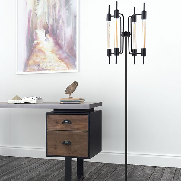 Gisborne Floor Lamp By Zuo Modern