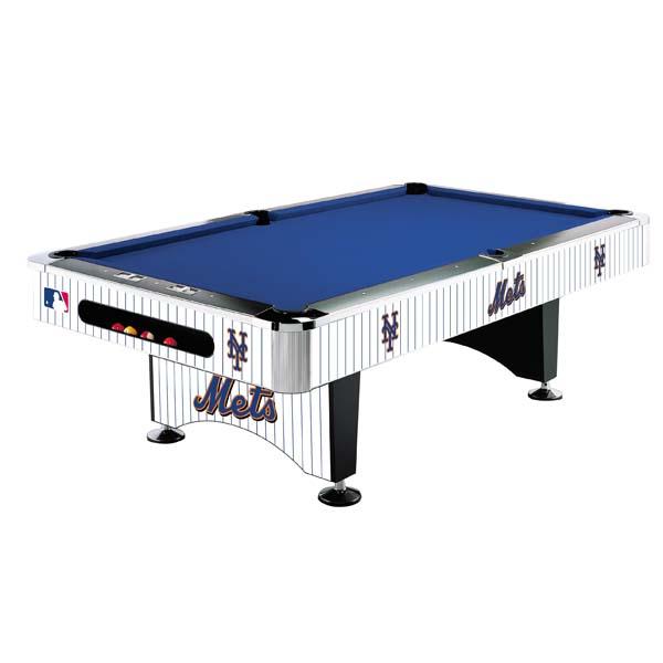 New York Mets 8 Pool Table