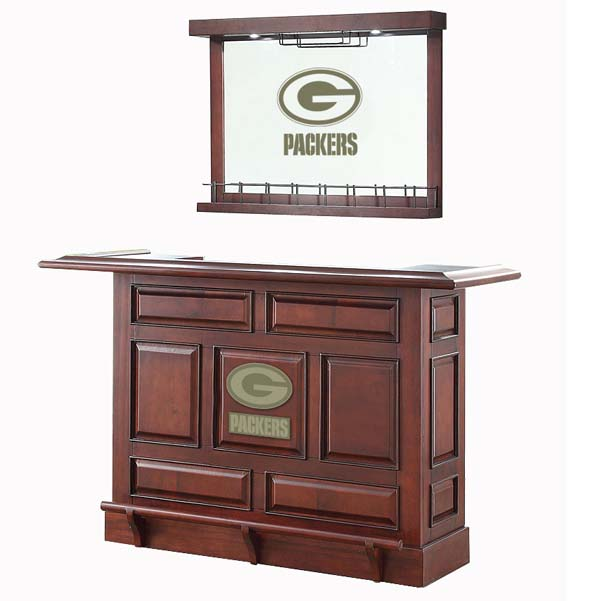 Nfl Back Bar Wall Mirror By Imperial Billiards