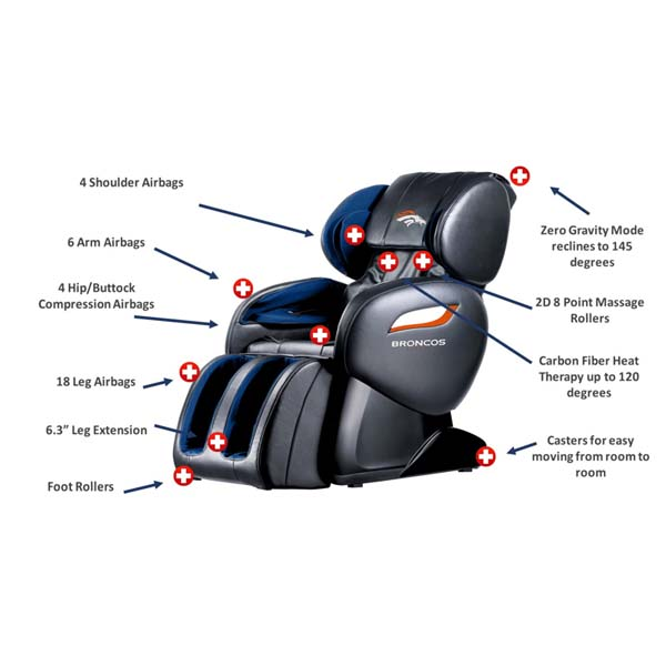 Officially Licensed Nfl Massage Chair
