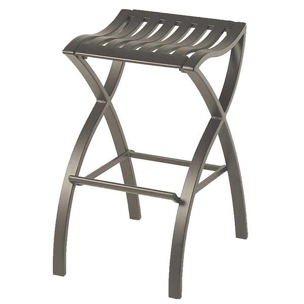 Backless Outdoor Bar Height Stool 263315 By Hanamint