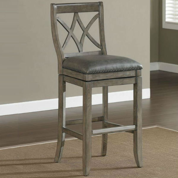 hadley extra tall bar stool by american heritage. Black Bedroom Furniture Sets. Home Design Ideas