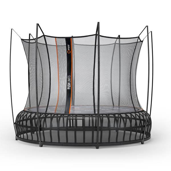 Thunder PRO Large Trampoline w/ Enclosure