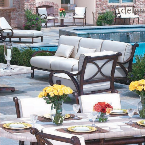 adelante deep seating patio furniture by cast classic