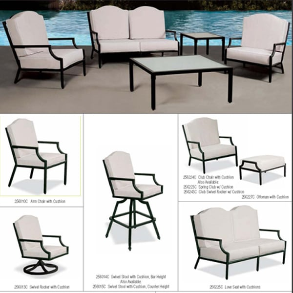 Relax In Style On Your Patio With The Gateway Deep Seating Collection By  Cast Classic ...