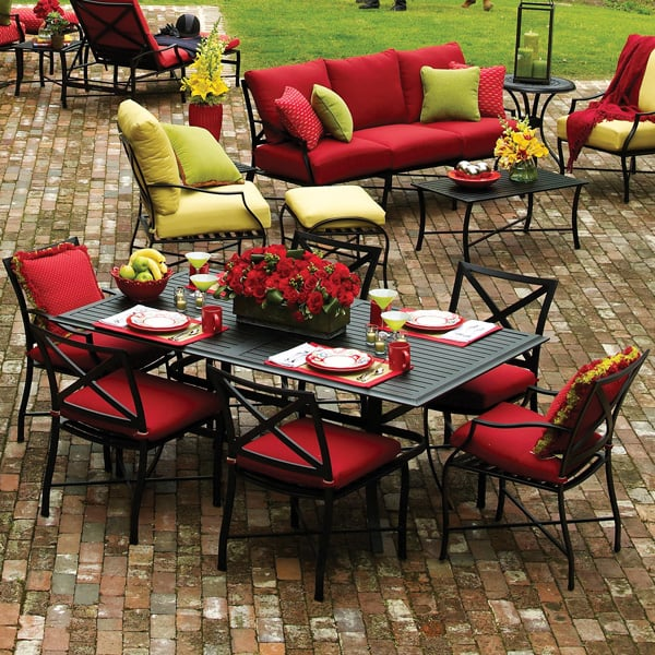 Villano Outdoor Dining Patio Furniture By Summer Classics
