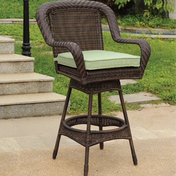 Free shipping key west outdoor bar stool leisure select Rustic outdoor bar stools