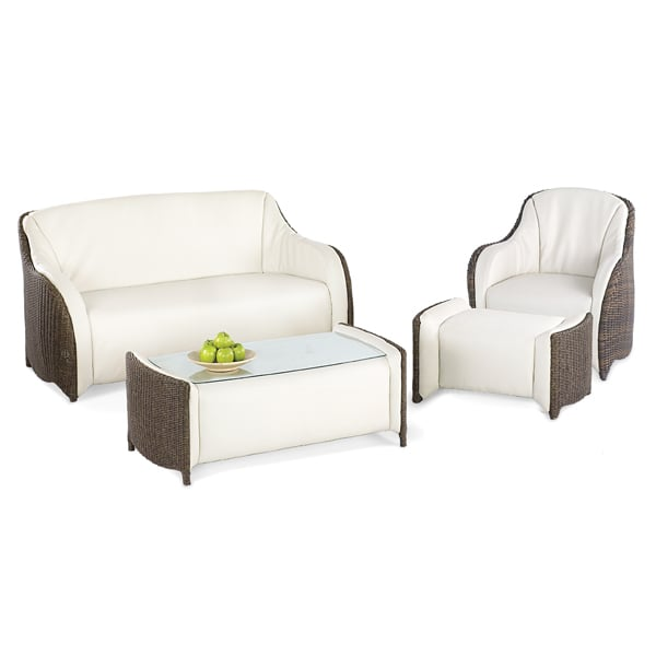 casual patio furniture luxor wicker set