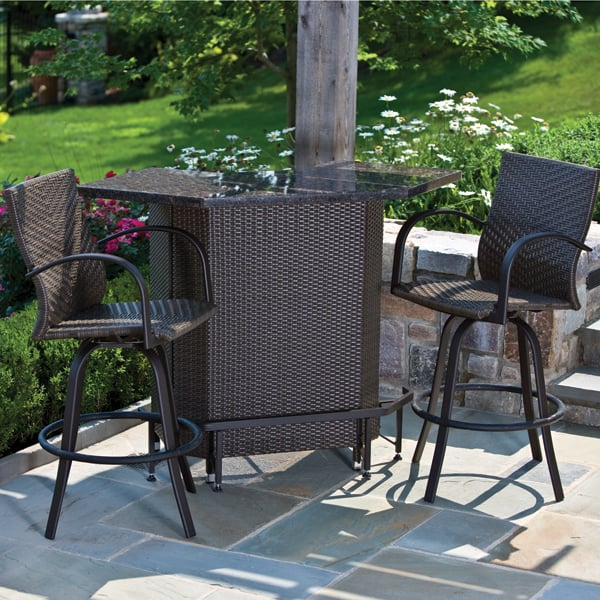 garden bar set outdoor furniture