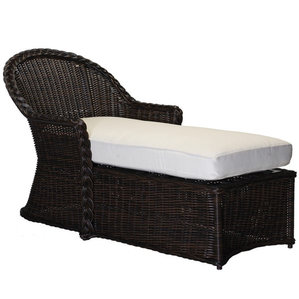 by the pool or on the deck a chaise lounge is classy and comfortable